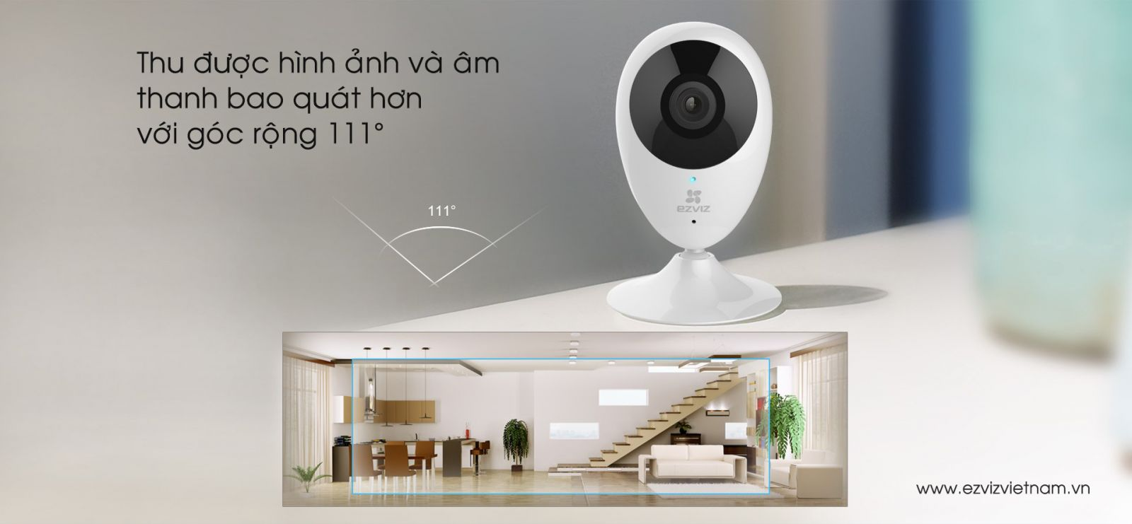 Camera wifi EZVIZ CS-CV206 Mini O Plus đa năng 1080p