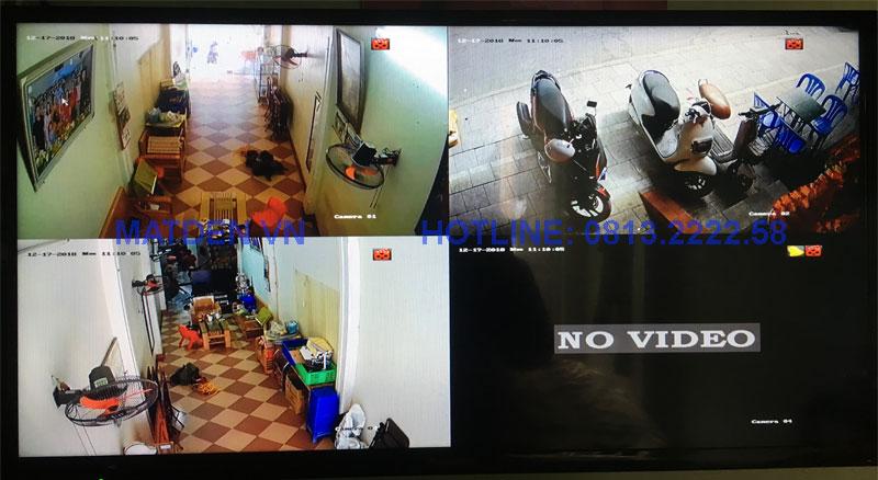Camera quan sát tại quán ăn Thi Trấn Chuối - Nông Cống
