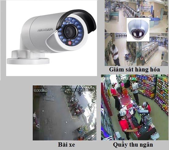 Lắp đặt camera quan sát cho cửa hàng