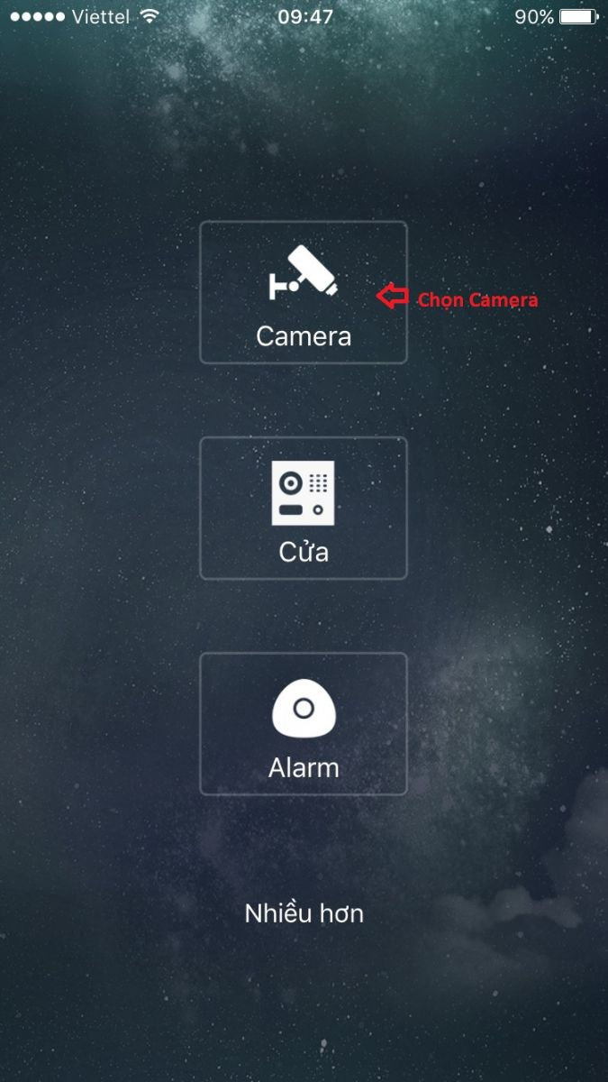 xem camera dahua trên điện thoại